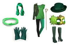 """Female Riddler"" by mysherm6775 ❤ liked on Polyvore"
