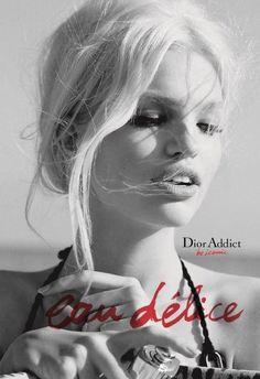 Daphne Groeneveld - Dior Beauty - Dior Addict Eau Délice Fragrance 2013