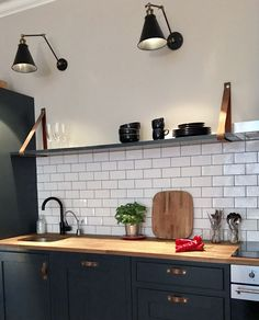 There was much excitement earlier this week when esteemed interiors photographer Rachael Smith arrived to take pictures of my home for 25 Beautiful Homes magazine… Old Kitchen, Kitchen Tiles, Kitchen Decor, Kitchen Cabinets, 25 Beautiful Homes, One Bedroom Flat, Bespoke Kitchens, Diy Kitchens, Large Sideboard
