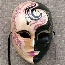 mascaras de yeso decoradas con mariposas ile ilgili görsel sonucu