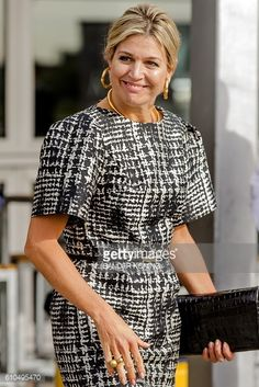 Queen Maxima of the Netherlands attends the Future of Finance conference FMO the Dutch Finance Company for Developing Countries in Katwijk on...