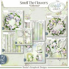 collection Smell the Flowers by Ilonka's Scrapbook Designs https://digital-crea.fr/shop/index.php?main_page=index&manufacturers_id=177