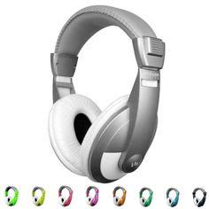 NEW VM Audio SRHP15 Stereo MP3/iPhone iPod Over the Ear DJ Headphones