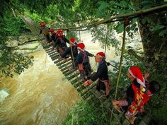 Vietnam Holidays & Travel: Local tour operator specializes in private tours, tailor made package holidays to Vietnam and Indochina for individual, family & group travel Vietnam Travel Guide, Vietnam Tours, Laos, Vietnam Holidays, Local Tour, Beautiful Waterfalls, Adventure Tours, Travel Tours, Mountain Landscape