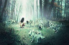 Dances with wolves | Julie de Waroquier