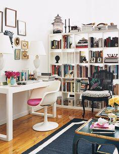 Small space decorating via Domino