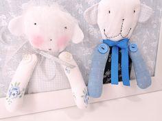 Artist teddy bears - Wedding teddy bears - Wedding decorations - Wedding decor - Wedding present - Bride and groom gift