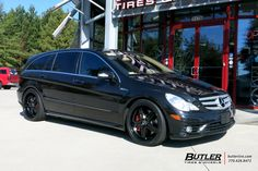 Mercedes R-Class with Mandrus Mannheim Wheels exclusively from Butler Tires and Wheels in Atlanta, GA - Image Number 10656 Mercedes Benz R Class, Mercedes Models, Tyre Brands, Butler, Luxury Cars, Touring, Atlanta, Wheels, Bmw
