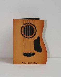 LSC173 - Guitar card by cindy_canada - Cards and Paper Crafts at Splitcoaststampers