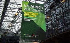 "South Korea's Start-up Conference ""beLAUNCH 2014"" Brand Design"