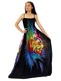 68482f07a7 MayriDress Women Black Summer Dress Maxi Plus Size Graduation Chiffon Gift  Long at Amazon Women s Clothing store