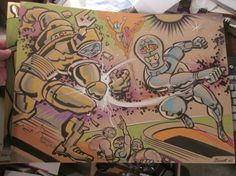 Battle of the Gods by Mike Bennett $65