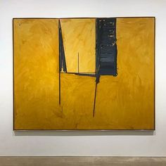 is a Motherwell . Robert Motherwell, Cy Twombly, Deco Paint, Abstract Sculpture, Francis Bacon, Contemporary Paintings, Artist Art, Abstract Expressionism, Painting Inspiration