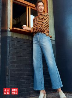1e5df2483d9b Jeans are the building block of every outfit. Our High Rise Wide Fit Jeans  are