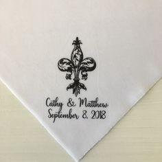 New Cornstalk Fleur De Lis Second Line Handkerchiefs Parade