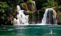 Krka River Falls Croatia