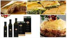 Famous Greek Pies made with love and renowned Koroneiki Olive Variety, thanks to Pure Hellenic Extra Olive Oil