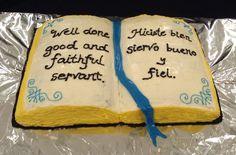 Bible cake