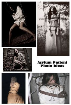Inspiration: Asylum Patient Photo Ideas