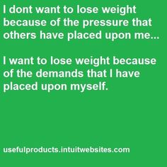 Weight Loss Motivation