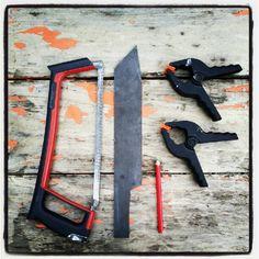 DIY handmade machete for zombie