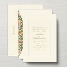 Royalty Manor Invitation with Beveled Panel
