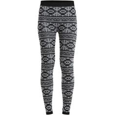 Object Collectors Item Objivy Azteca - Leggings ($6.51) ❤ liked on Polyvore featuring pants, leggings, bottoms, jeans, black, slim pants, tall stretch pants, stretchy leggings, black stretchy pants and tall pants