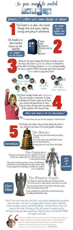 Doctor Who For Beginners