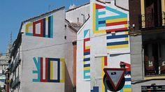 """""""2015  Madrid #eltono #mural #madrid"""""""