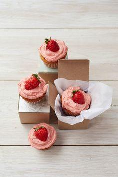 PB & J Cupcakes #baking