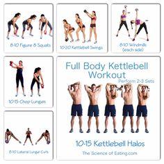 Workout Full Body Kettlebell
