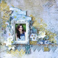 The Scrapbook Store - Step by Step Tutorial - Blue Fern Studios - Tranquility - Cathy Cafun