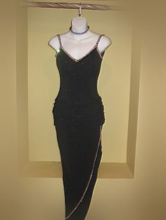 CR160 - Rhythm/Latin Ballroom Dress... A little short in the torso, but nice