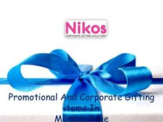 Watch out our latest Video on Promotional Gifts