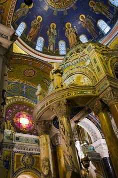 Cathedral Basilica of St Louis Missouri aka The New Cathedral - Catholic church - amazing mosaics