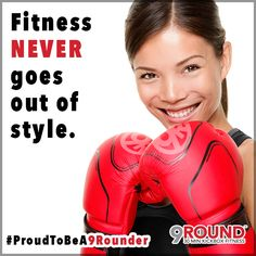 """Labor Day is over and although wearing """"white"""" may no longer be trendy until next Spring, we can ASSURE you that fitness NEVER goes out of style!And here at 9Round, the most TRENDY individuals are the ones wearing GLOVES!So head on over to 9Round, get your gloves on, and GET FIT!!!  #9RoundCoMo #FreeWorkout #HumpDay #LetsGetFit  #9Rounder #Trendy #InStyle #Kickboxing"""