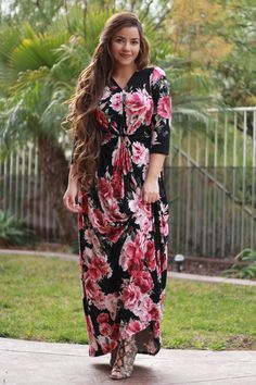 Our Farrah maxi is here and almost gone! Sadly these won't be restocked! Grab one today! S-L
