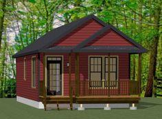 18x40 House -- #18X40H1J -- 720 sq ft - Excellent Floor Plans