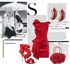 """""""Red Hot"""" by nataliawiggill on Polyvore"""