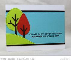 MFT Tree-mendous Die-namics | Card by Julie Dinn