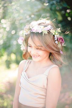 Flower Girl | Floral Headband | Boho Wedding | Forever Bride | Wedding Planning Made Easy | Minneapolis
