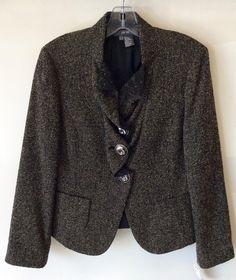 #PerSe #Jacket #Blazer   Size 10   $84! Call for more info (781)449-2500. #FreeShipping #ShopConsignment  #ClosetExchangeNeedham #ShopLocal #DesignerDeals #Resale #Luxury #Thrift #Fashionista
