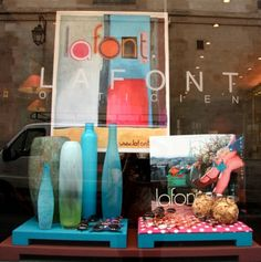 The MAY 2012 window display