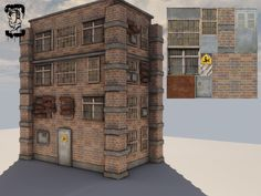 [WIP] UDK TF2 Style Building - Polycount Forum