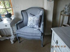 From Old to new, amazing what paint and new upholstery can do