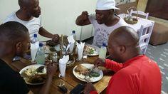 Taste African menu in Port Elizabeth new brighton at cafe rizo