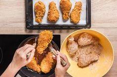 Na tohle jste čekali! Tajný trik na šťavnaté smažené kuře