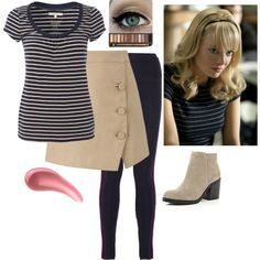 """Gwen Stacy Outfit #7"" by december-mockingjay-98 on Polyvore"