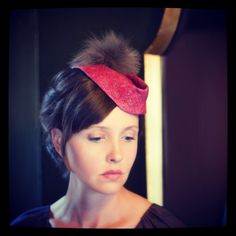 BY UNA HATS #millinery #HatAcademy