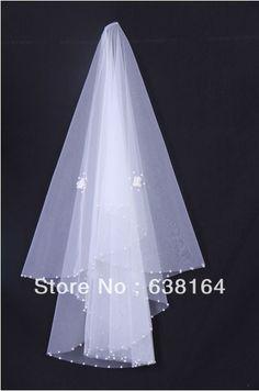 Купить товарОдин слой белый велюр вышивка бисером Edge цветы 1,2 * 1,5 m свадьба фаты свадебные аксессуары в категории Фата, свадебные вуалина AliExpress.        Добро пожаловать в мой магазин                                                                       Обрати